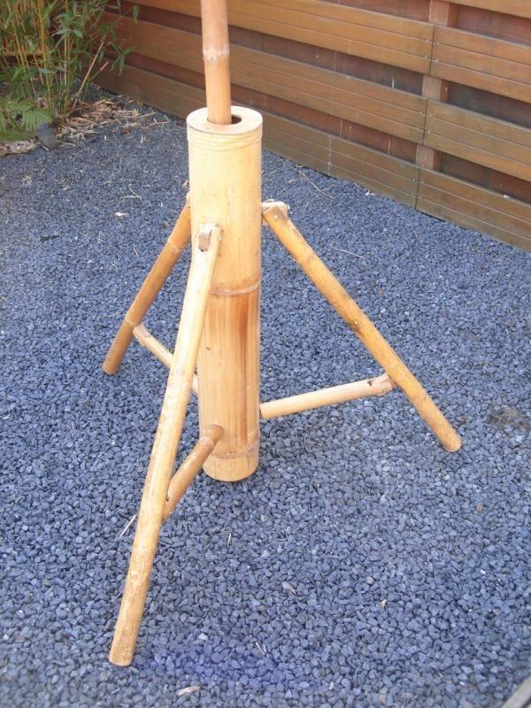 Bamboe parasol stander