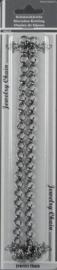 117454/5244- ketting/jasseron 50cm x 8mm antraciet