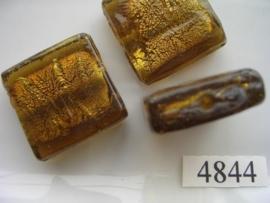 zilverfolie plat vierkant 26x26mm 4844