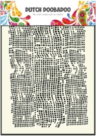 CE185071/5006- Dutch Doobadoo Dutch mask art stencil burlap A5