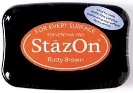 CE132005/6042- Stazon inktkussen SZ-000-042 rusty brown