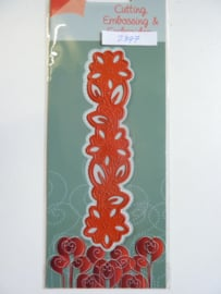 0002397- Joy Crafts stencil rand 13.5cm lang - OPRUIMING