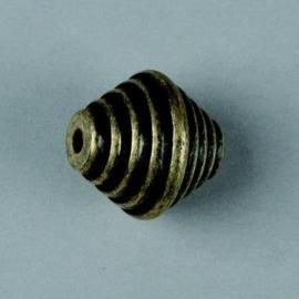 metalen kraal antiek goud 18x19mm 117465/2636