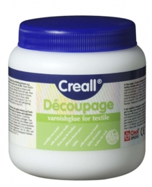 CE121002/4080- Creall Tex- decoupage textielvernislijm 250ML