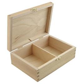 CE811725/0317- houten speelkaarten doos 17x12x16cm paulownia