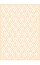 6002/0872 - Joy! crafts embossing achtergrondstencil poly-besa -  geo retro