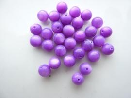 2626- 30 stuks schelpenkralen van 6mm paars
