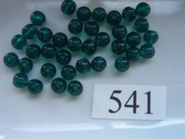 541 Ronde glsakraal 5.5 mm turqoise