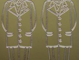 st469- diverse kledingstukken goud