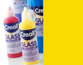 CE301800/0505- Creall Glass - glasstickerverf - window color - 80ML donkergeel