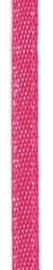 006302/0227- 4.5 meter satijnlint van 10mm breed op een rol fuchsia