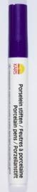 116726/0208- porseleinstift paars met een punt van 4mm