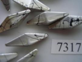2 puntig 27x8mm 7317