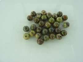 3266- 30 stuks Ocean Jasper mineraal kralen 6mm gemstone