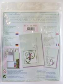 003007- Leane borduur/kruissteek pakket no.3 OPRUIMING