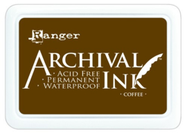CE306010/1451- Ranger archival ink pad - coffee