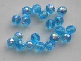 20 stuks 8 mm AB kristal 1968