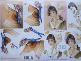 kn/715- A4 3D knipvel Le Suh dames