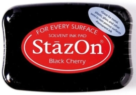 CE132005/6022- Stazon inktkussen SZ-000-022 black cherry