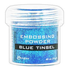 CE306320/1030- Ranger embossing powder 34ml - blue tinsel
