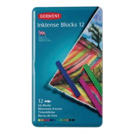 CE325009/0012- Derwent inktense blocks 12st blik