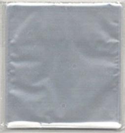 100 x scrapbookvel formaat zakjes 32x33cm