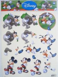 kn/618- A4 knipvel Disney nr.40