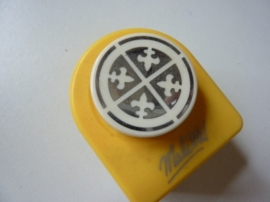 001177- ornamentpons rond 30mm OPRUIMING