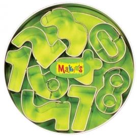 CE117918/7002- Makin`s clay uitstekerset in blik cijfers