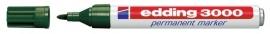CE393000/0004- Edding-3000 permanent marker met punt van 1.5-3mm groen