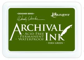 CE306014/8962- Ranger archival ink pad - fern green