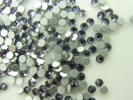 00585- ca 350 kristalsteentjes SS6 2mm tanzate - SUPERLAGE PRIJS!