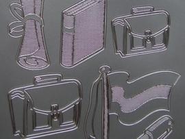 st 299- geslaagd zilver 10x20