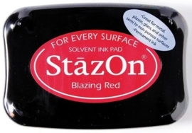CE132005/6021- Stazon inktkussen SZ-000-021 blazing red