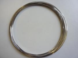 ca. 12/13 windringen Memory Wire van 11.5cm extra dik 1.2mm