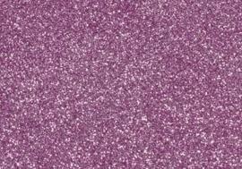 7904 227- magneetfolie 9x16cm roze met glitter