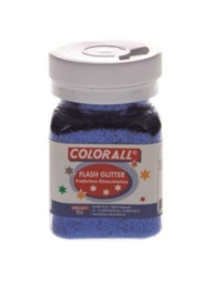 CE801502/0101- Colorall glitter blauw 150ML / 95gram