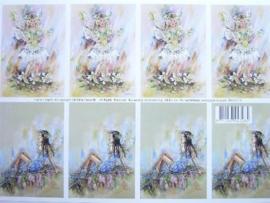 kn/515- A4 knipvel AANBIEDING fairy poppets 11/19