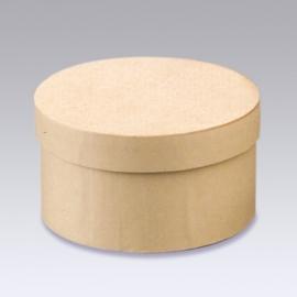 8735 746- 6 stuks kartondoos natuur 10.2x6cm