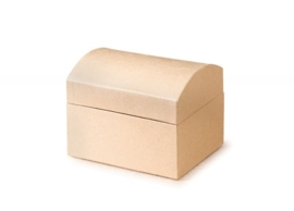 8735 754- 6 stuks ecoshape schatkistjes / sieradendoosjes 11.5x9x9.5cm