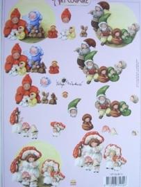 kn/506- A4 knipvel Art Coupure 117145/4012
