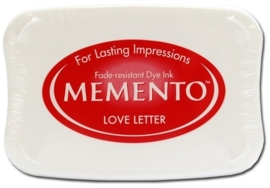 CE132020/4302- Memento inktkussen love letters