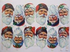 """p0015092- nostalgisch pöezie plaatje """"kerst"""" 24x15cm"""