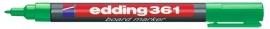CE390361/0004- Edding-361 boardmarker met punt van 1mm groen