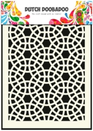 CE185071/5020- Dutch Doobadoo Dutch mask art stencil mosaic A5