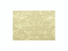 KN218301412- kaarsen versierwas plaatje 17.5x8cm marmer goud
