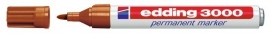 CE393000/0013- Edding-3000 permanent marker met punt van 1.5-3mm okergeel