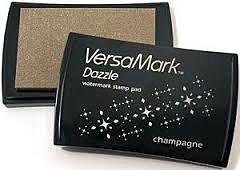 CE132015/7003- Versamark dazzle inktkussen champagne - watermerkinkt