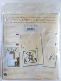 003006- Leane borduur/kruissteek pakket no.4 OPRUIMING