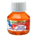CE303500/5037- Collall AquaTint vloeibare waterverf 50ml oranje